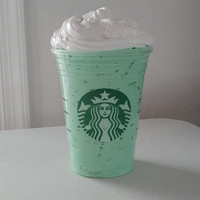 Green Tea Frappe Slime (4 oz)
