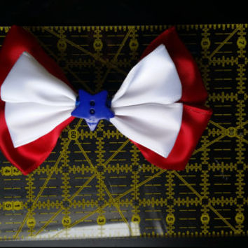 Captain America's Shield Inspired Bow