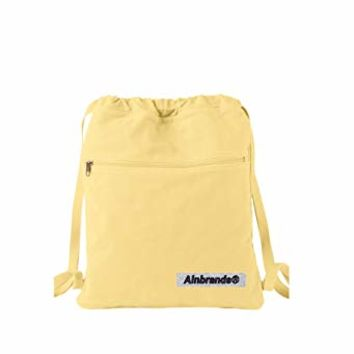 14 oz. Pigment-Dyed Canvas Cinch Sack by ALNBRANDS