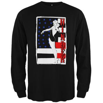 Hinder - Pin Up Girl Long Sleeve