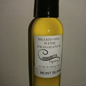 Beard Oil With Designer Fragrance Body Oil
