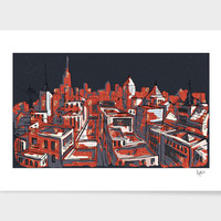 «Urban Visions», Limited Edition Fine Art Print by Fotios Pavlopoulos - From $29 - Curioos