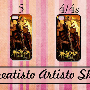 Job For A Cowboy iPhone 5 /4 /4s Hard Case