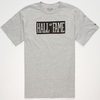 Hall Of Fame Your Name Mens T-Shirt Silver  In Sizes