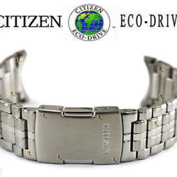 Citizen Eco-Drive CB0011-51A Silver Tone Stainless Steel Watch Band CB0011-51L