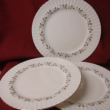 #Paragon China Dinnerware Fine Bone China Monique set 3 Dinner plate