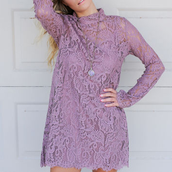 Express Your Roots Lace Dress