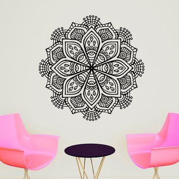 Buddhist Ornament Decor Yoga Symbol Meditation Wall Art