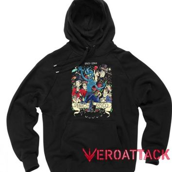 Panic At The Disco Art Black Color Hoodie