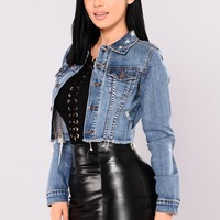Crop It Out Jacket - Medium