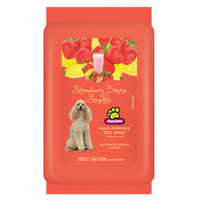 Top Paw® Strawberry & Banana Scented Dog Wipes | Shampoo & Conditioner | PetSmart