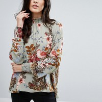 Y.A.S Ilvaly Highneck Top at asos.com