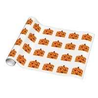 Winking Fruit Cake Gift Wrapping Paper