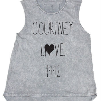 Courtney Love 1992 Muscle Tank -LAST ONE