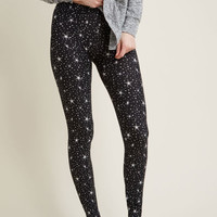 All Kinds of Cozy Leggings in Stars