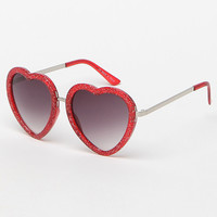 LA Hearts Rounded Hearts Sunglasses at PacSun.com