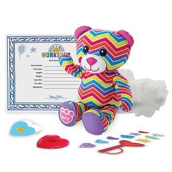 Spin Master Build a Bear Workshop Furry Friends - Rainbow Bear