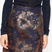 Warehouse | Warehouse Jacquard Mini Skirt at ASOS