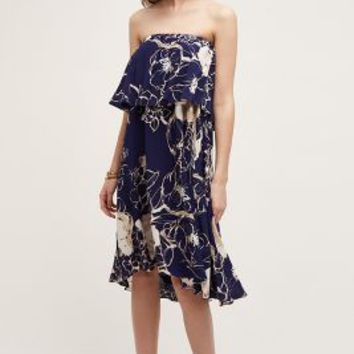 Plenty by Tracy Reese Tiered Enna Dress in Navy Size: