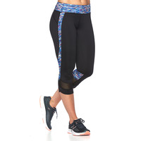 Women's Tek Gear® Pieced Capri Workout Leggings