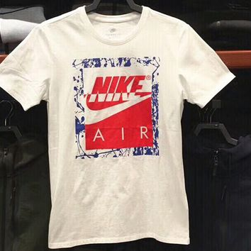 NIKE 2018 spring and summer new AIR sports and leisure T-shirt F-CY-MN white