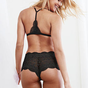 The Crochet Lace Sexy Shortie - Body by Victoria - Victoria's Secret