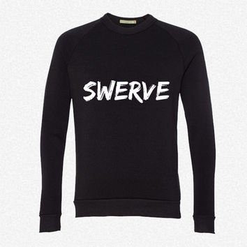 Swerve T Shirt 4 fleece crewneck sweatshirt