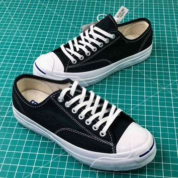 Converse Jack Purcell Signature Style 1 Low Canvas Shoes - Best Online Sale