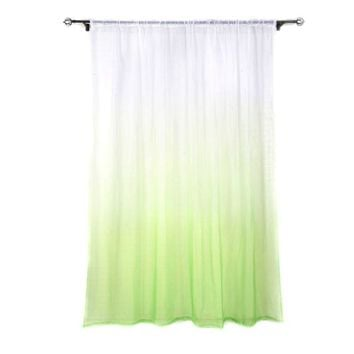 Tulle Curtains 3d Print Kitchen Decorations Window Treatments American Living Room Divider Sheer Voile curtain Single Panel New
