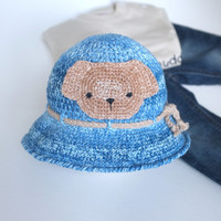Crochet Baby Boy Sun Hat Cotton Toddler Summer Hat Baby Photo Props Infant Beach Hat Baby Shower Gift Idea Animal Hat Cute Hats by Mila