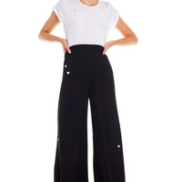 Holly Trouser Scattered Heart Embroidery - Wildfox