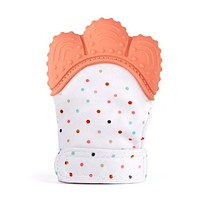 Silicone Baby Teether Pacifier Glove