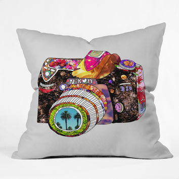 Bianca Green Picture This Throw Pillow