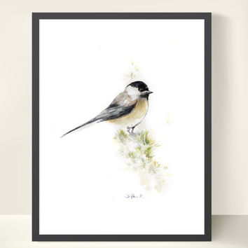 Bird Watercolor Painting Art Print - Bird Watercolor - Bird Painting - Bird Art - Watercolor Painting - Bird Illustration - Wall Art