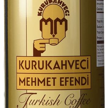 Mehmet Efendi Turkish Coffee 17.6 Oz. by Kurukahveci