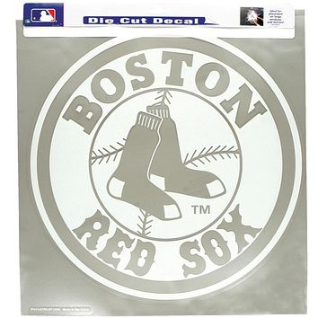 "Boston Red Sox - Logo 18""X18"" Cutout Decal"