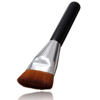 High-Quality 1PCS New Professional Soft Makeup Flat Contour Brushes Blush Brush Blend Makeup Comestic