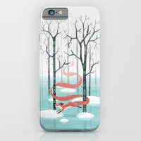 Forest Spirit iPhone & iPod Case by Freeminds