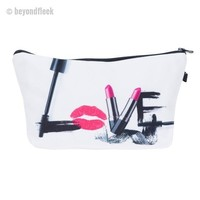 LOVE 3D Makeup Bag