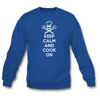 Keep Calm and Cook On Sweatshirt