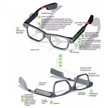 Women's Bluetooth Smart Glasses