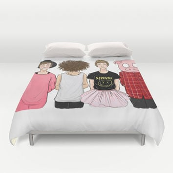 5SOS Duvet Cover by Girlwiththetea
