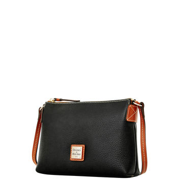 Pebble Grain Crossbody Pouchette