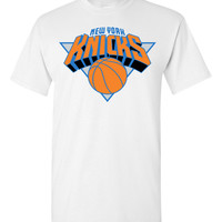 New York Knicks White T-Shirt