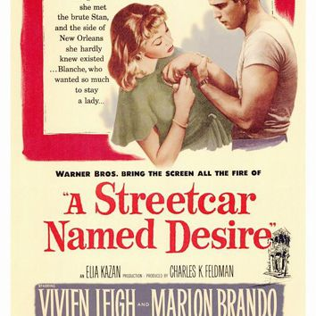A Streetcar Named Desire 27x40 Movie Poster (1951)