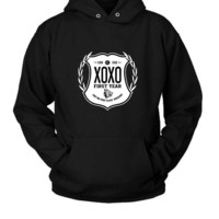 DCCK7H3 Exo Logo Hoodie Two Sided