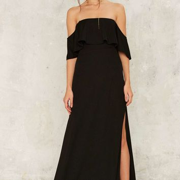 Bare With Me Maxi Dress