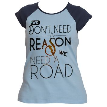 Don't Need a Reason|Classic Baseball Raglan Tee|Underground Statements