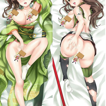 New Kantai Collection Amagi Anime Dakimakura Japanese Pillow Cover MGF-55024