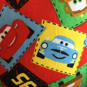 Colorful Cars Kids Pillow